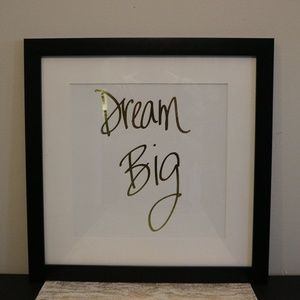 "Other - ""Dream Big"" Wall Art"